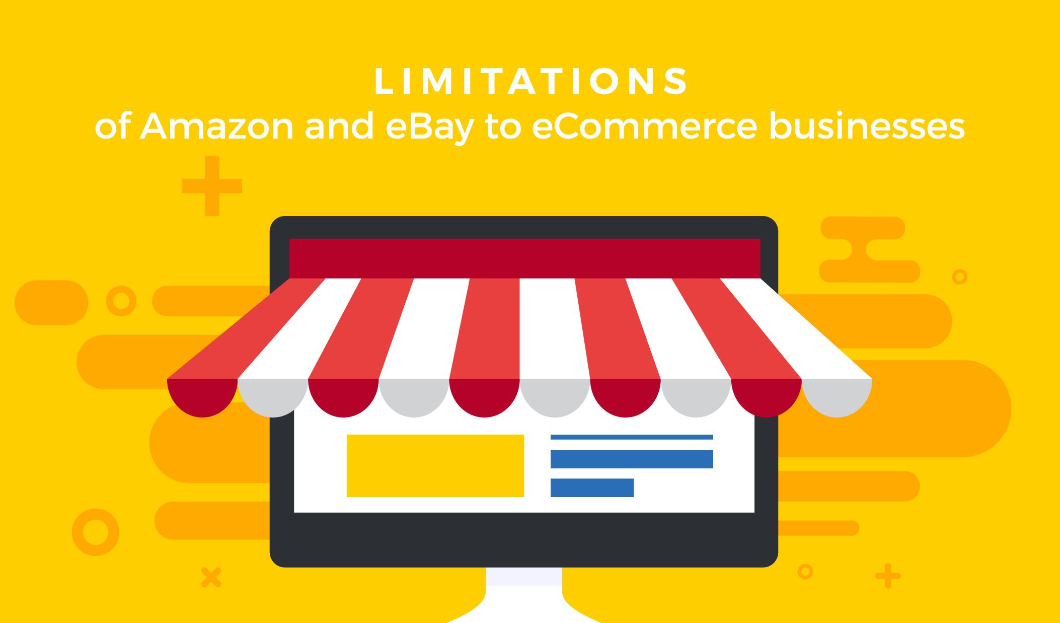 limitations amazon ebay